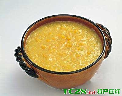 杏仁小米粥