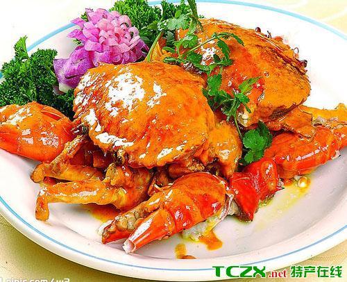 奉城香辣蟹