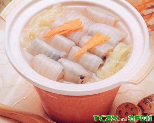 加力鱼煲白菜