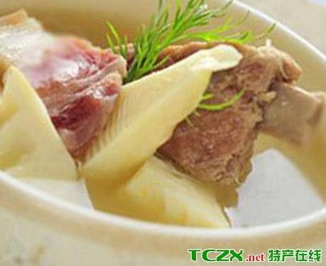 冬笋蒸腊肉