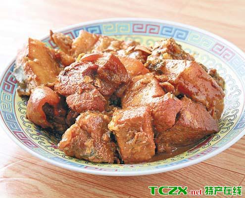 塘蓬镇生炆猪肉