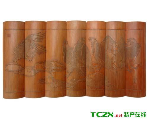 七星竹木雕刻艺