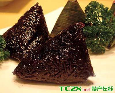平果黑肉粽