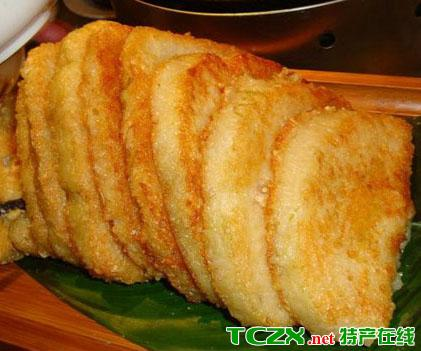 特产类别:特色食品          美食小吃 海南煎粽介绍   【所属菜系】