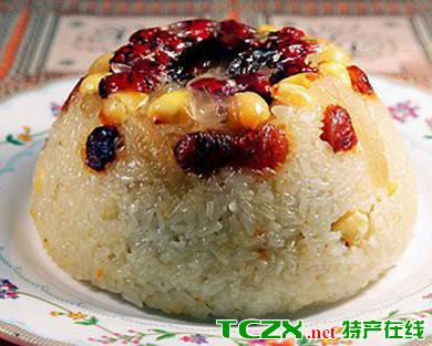 椰子八宝饭