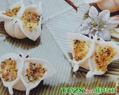 九龙坡蝴蝶米饺