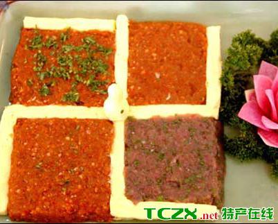 朗县四味生肉酱