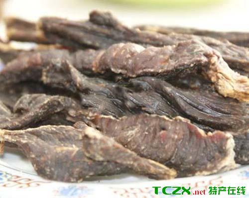 乃东风干肉和生肉