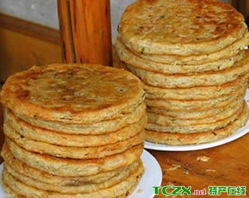 紫阳椒盐饼子