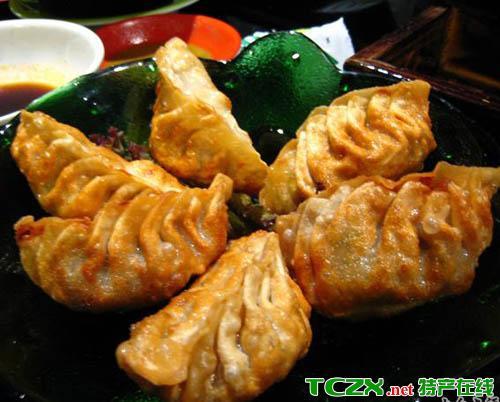 汉阴油炸米饺