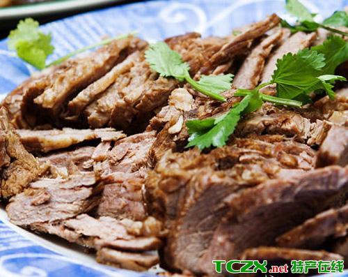 华亭五香卤牛肉
