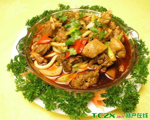 平罗爆炒羊羔肉