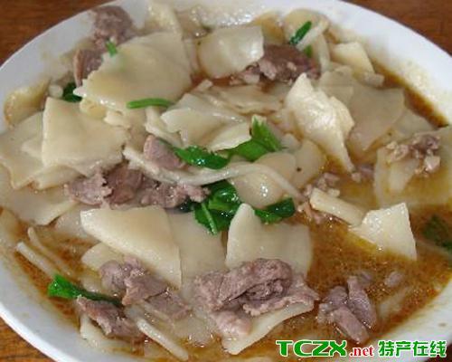 羊肉炒揪面片